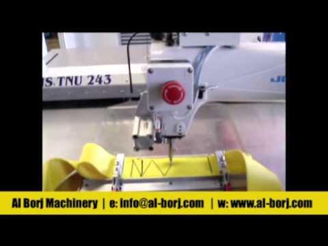 Juki Industrial Sewing Machine Unit AMS TNU 40 Programmable Interesting Juki Ams224e Programmable Sewing Machine