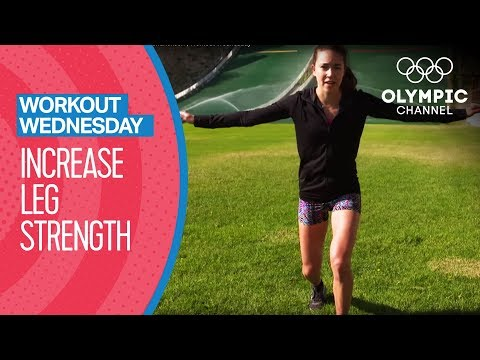 Quad Workout feat. Sarah Hendrickson | Workout Wednesday