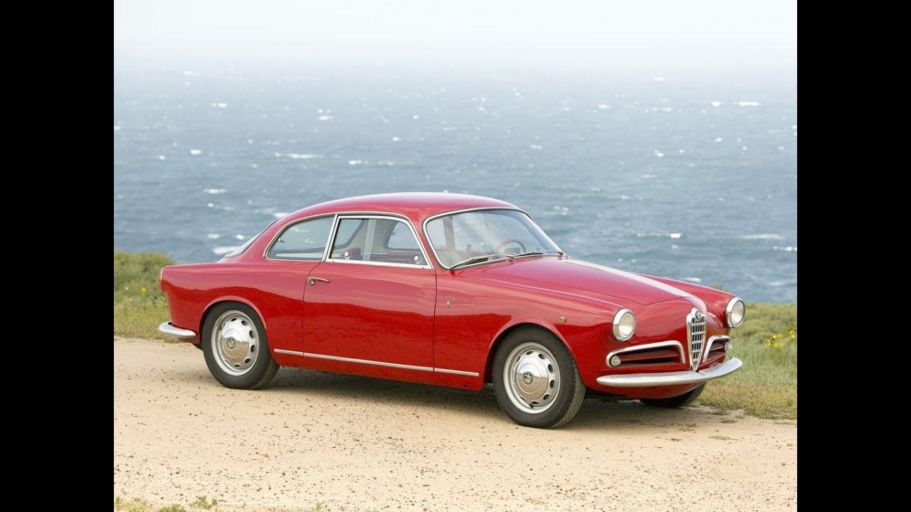 1957 alfa romeo giulietta sprint veloce alleggerita youtube. Black Bedroom Furniture Sets. Home Design Ideas