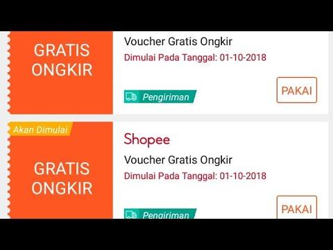 Cara Terbaru Mendapatkan Voucher Gratis Ongkir Shopee