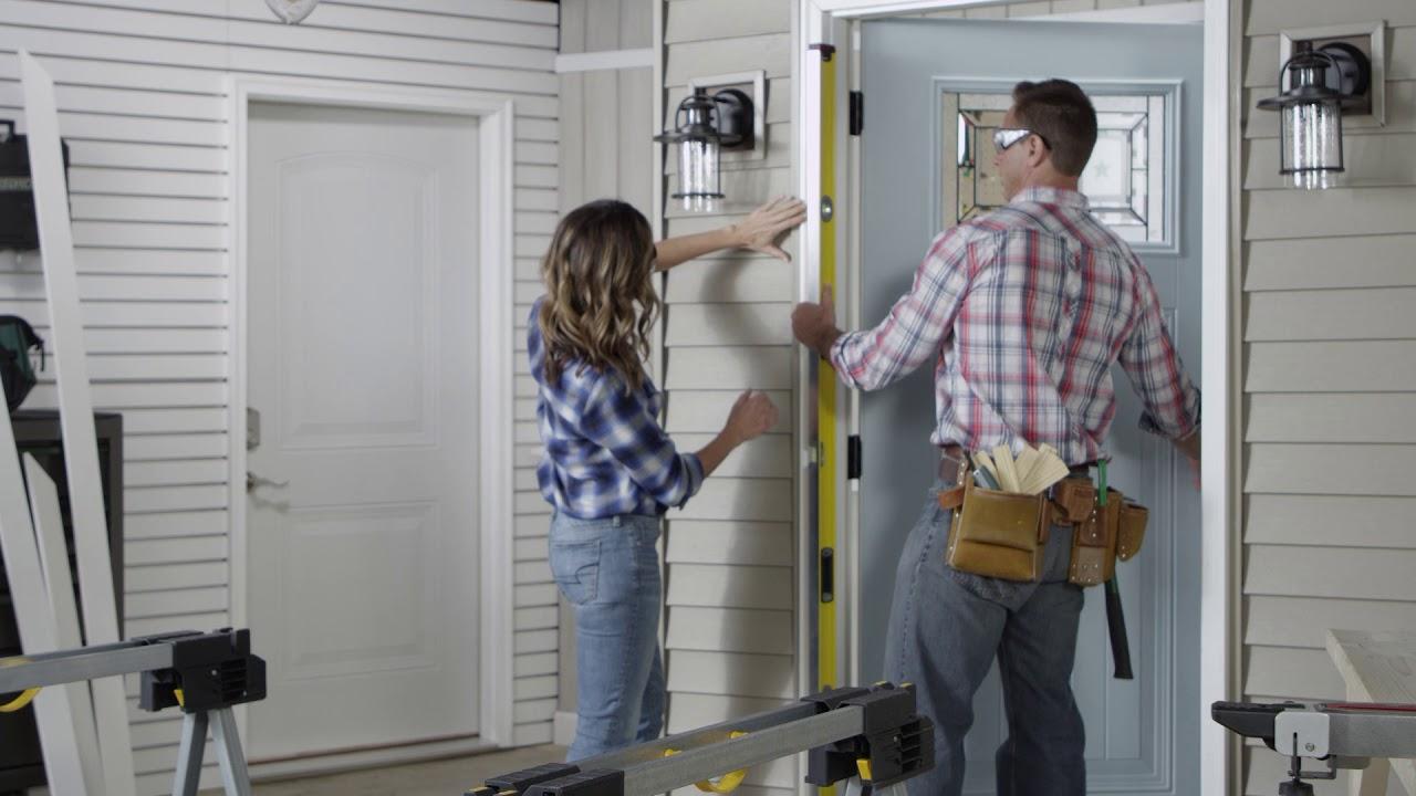 Installing A Mastercraft Exterior Door System Youtube
