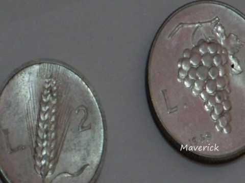 Coins collection - Italian Lira -