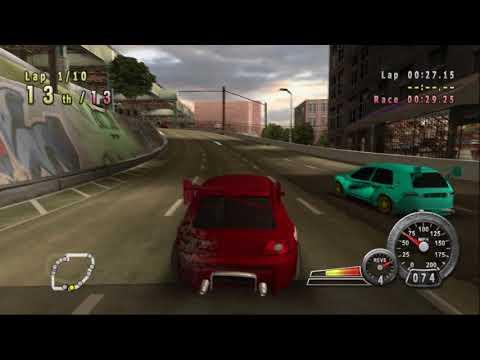 Crash 'n' Burn - Kamikaze Race - The Bronx 2 (PCSX2)