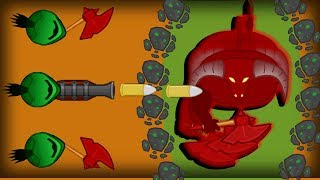 STEALING THE DEVIL BOSS WEAPON!! Doomed2.io Adamant Team destroys the demon & Musket Launching