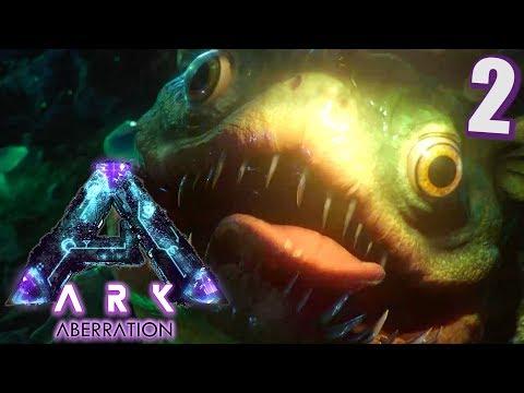 Ark Aberration #2 In die Enge getrieben!   Let's Play Deutsch    Gameplay German