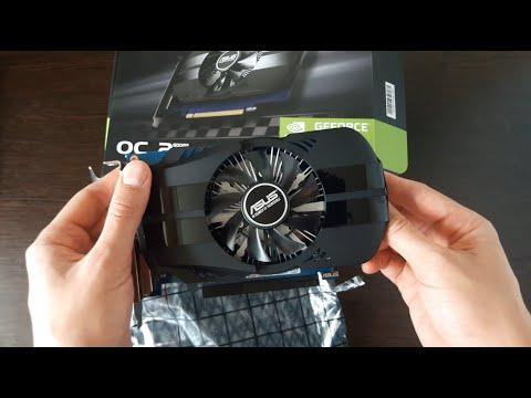 Asus PCI-Ex GeForce GT 1030 Phoenix OC 2GB GDDR5 (64bit) (1252/6008) (DVI, HDMI) (PH-GT1030-O2G)