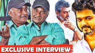 Ajith, Vijay behavior in shooting spot - Actor M S Bhaskar Exclusive Interview | Wetalkiess