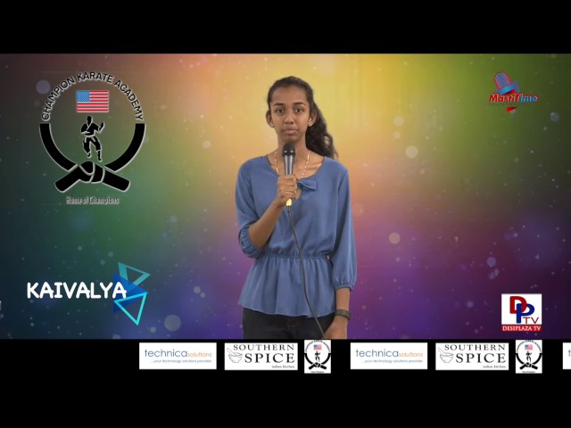 "Kaivalya speaking about ""Technology"" in Talking Bee - Public Speaking competitions 2016"