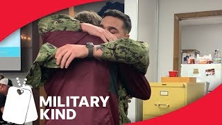 Marine Uses Prank On High School Brother For Surprise Homecoming | MIlitarykind