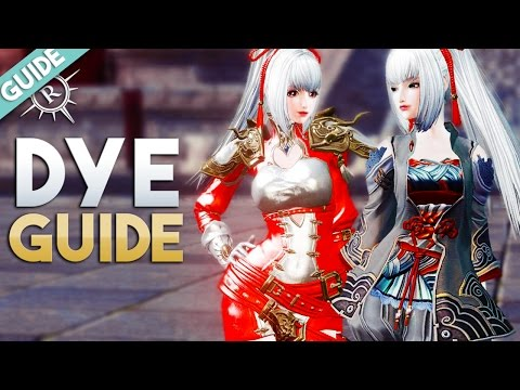 Revelation Online | Fashion Dyes Explained (Boutique Points from Costumes & Mounts) 🎨