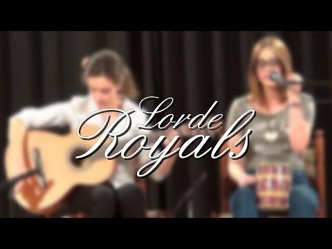Lorde - Royals Cover by B Nagy Réka & Gáti Anna
