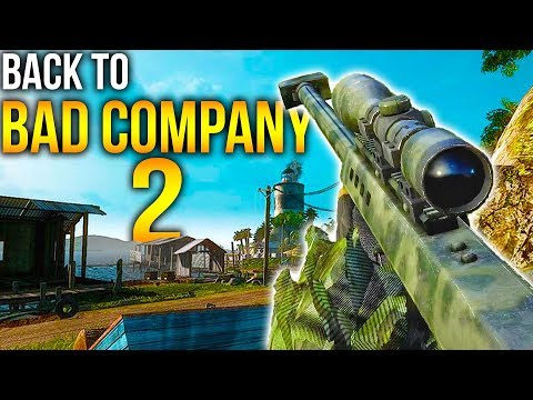BIGGEST SNIPER Battlefield Bad Company 2