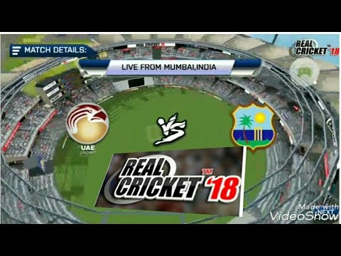 REAL CRICKET 18 || WESTINDIES Vs UAE || HIGHLIGHTS