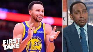 Steph Curry is Stephen A.\'s early NBA MVP | First Take