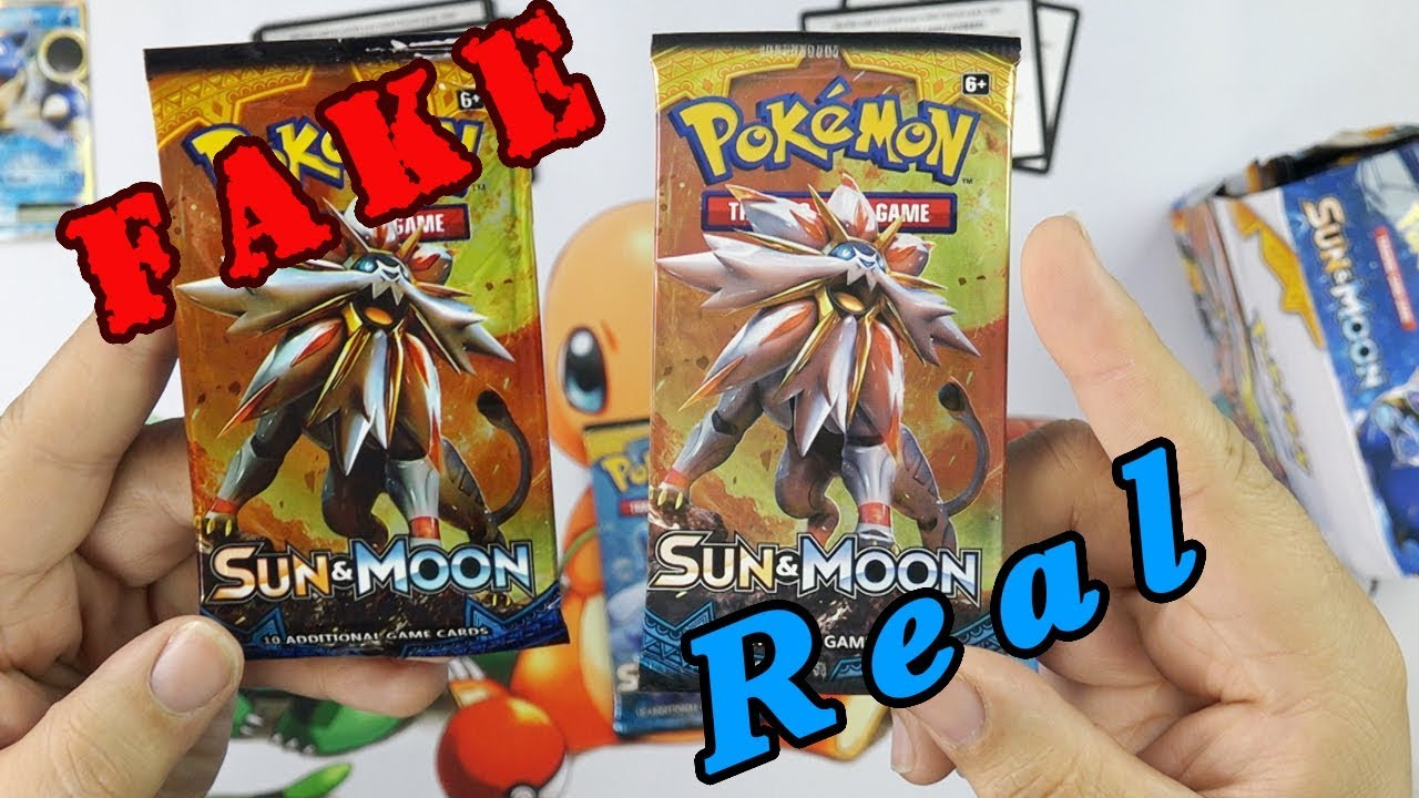 Vs Of Cards Real Ww Beware Fake - Youtube Pokemon
