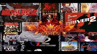 Os Melhores jogos de PlayStation 1