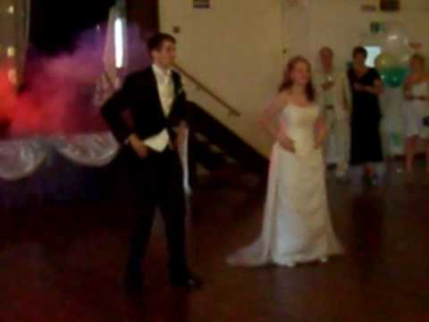 Tom & Jennifer Phillips' Wedding First Dance, 'Evolution of Dance' style