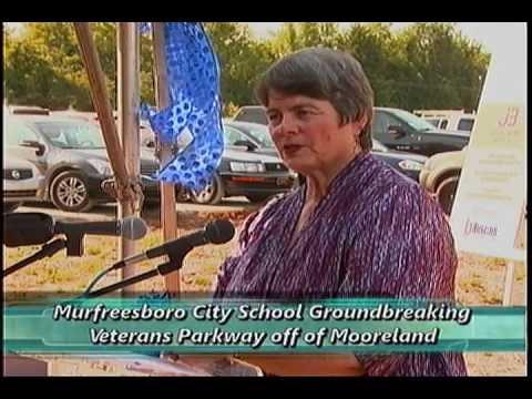 Groundbreaking of the 13th Murfreesboro City School - June 25, 2013