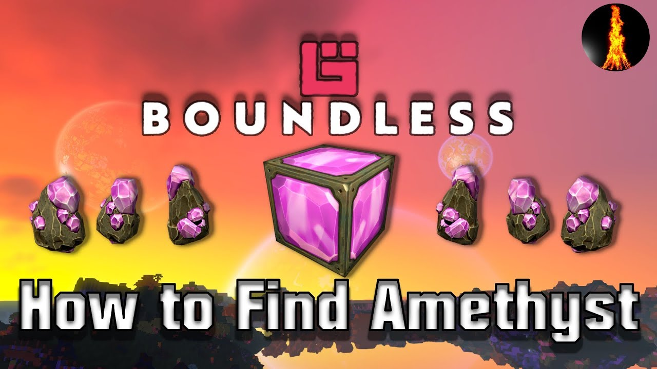 How to Find Amethyst | How to Find X | Boundless v 197