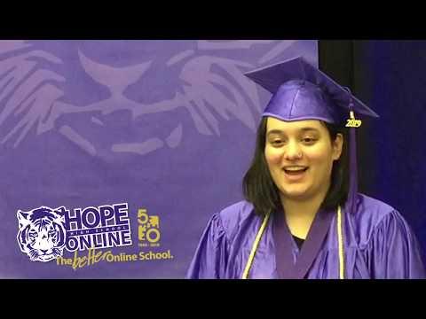 Layla's Hope High School Online 2019 Graduation Interview