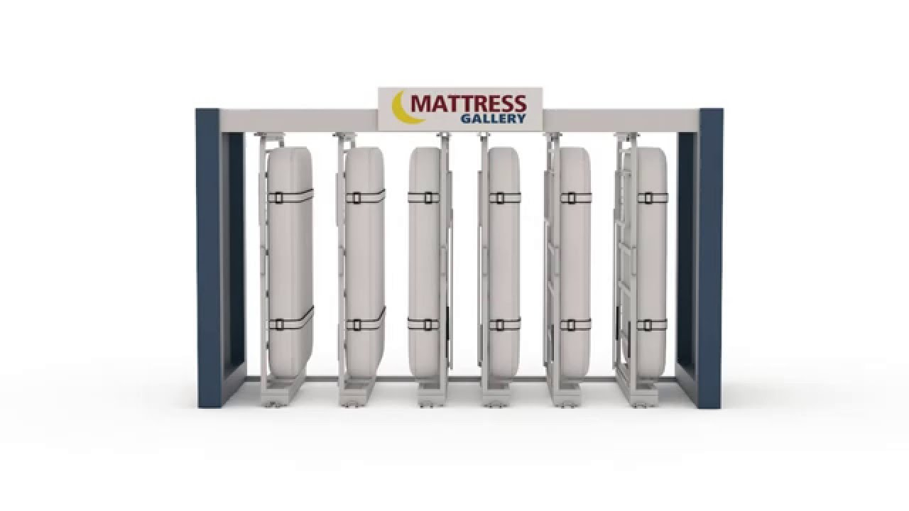 Mattress Display Rack Intro Youtube
