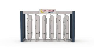 Mattress Display Rack Intro