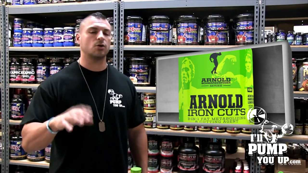 Muscle Pharm Arnold Series Iron Cuts Supplement Review