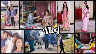 #Vlog   Na Adapaduchu Lakshmi Kosam Paayasam Chesanu☺️  Babba & Monkey...😀  Wedding Wear Sarees  AS