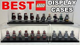 Are these the BEST LEGO Minifig DISPLAY CASES?? - Wicked Brick Minifigure display case Review