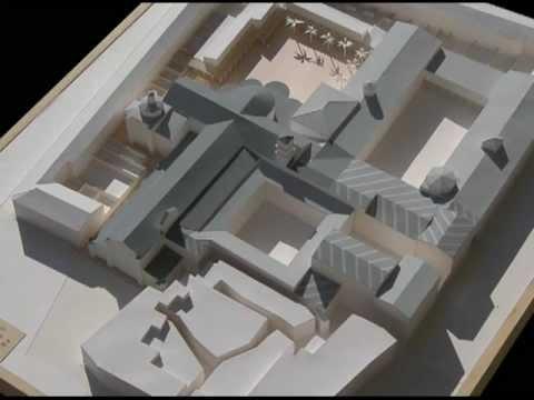 Maqueta volum trica papel carton arquitectura t cnica - Como hacer una maqueta de una casa ...