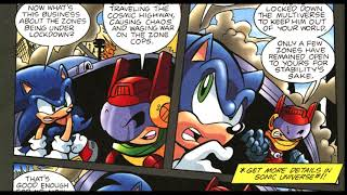 Sonic The Hedgehog Arichie Comic Issue #197 (DUB)