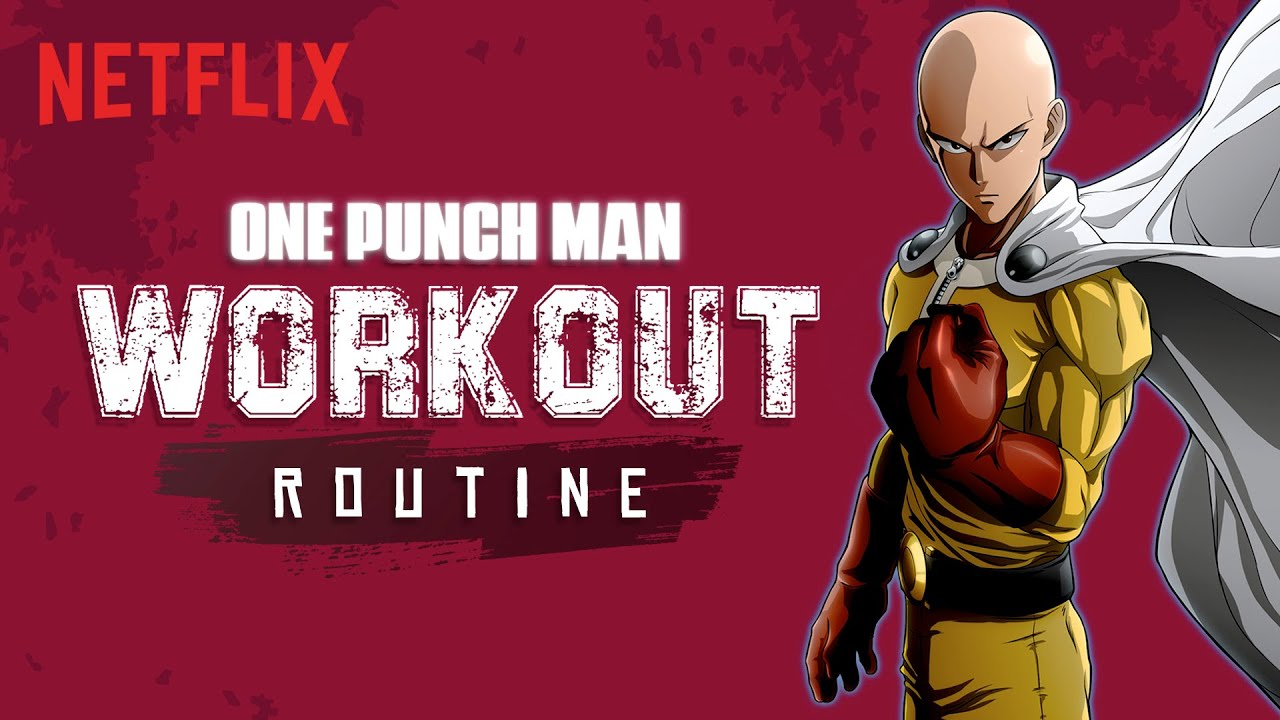 The Ultimate One Punch Man Workout Plan | Netflix India