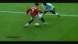 Первый матч Криштиану Роналду за Манчестер Юнайтед / 16.08.2003