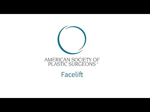 Facelift Surgery | American Society of Plastic Surgeons