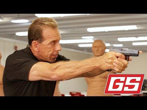 """Lenny Magill explains the """"Combat Grip."""""""