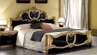 غرف نوم ذهبي واسود Gold And Black Bedrooms
