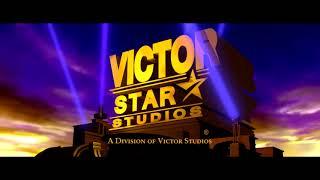 Victor Star Studios logo (2008-2011) (CinemaScope Variant)