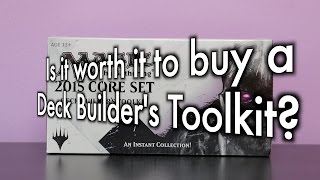 Mtg - Is It Worth It To Buy A Deck Builder's Toolkit? Should New Magic: The Gathering Players Buy?