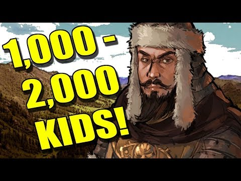 Top 10 MEN With The MOST KIDS