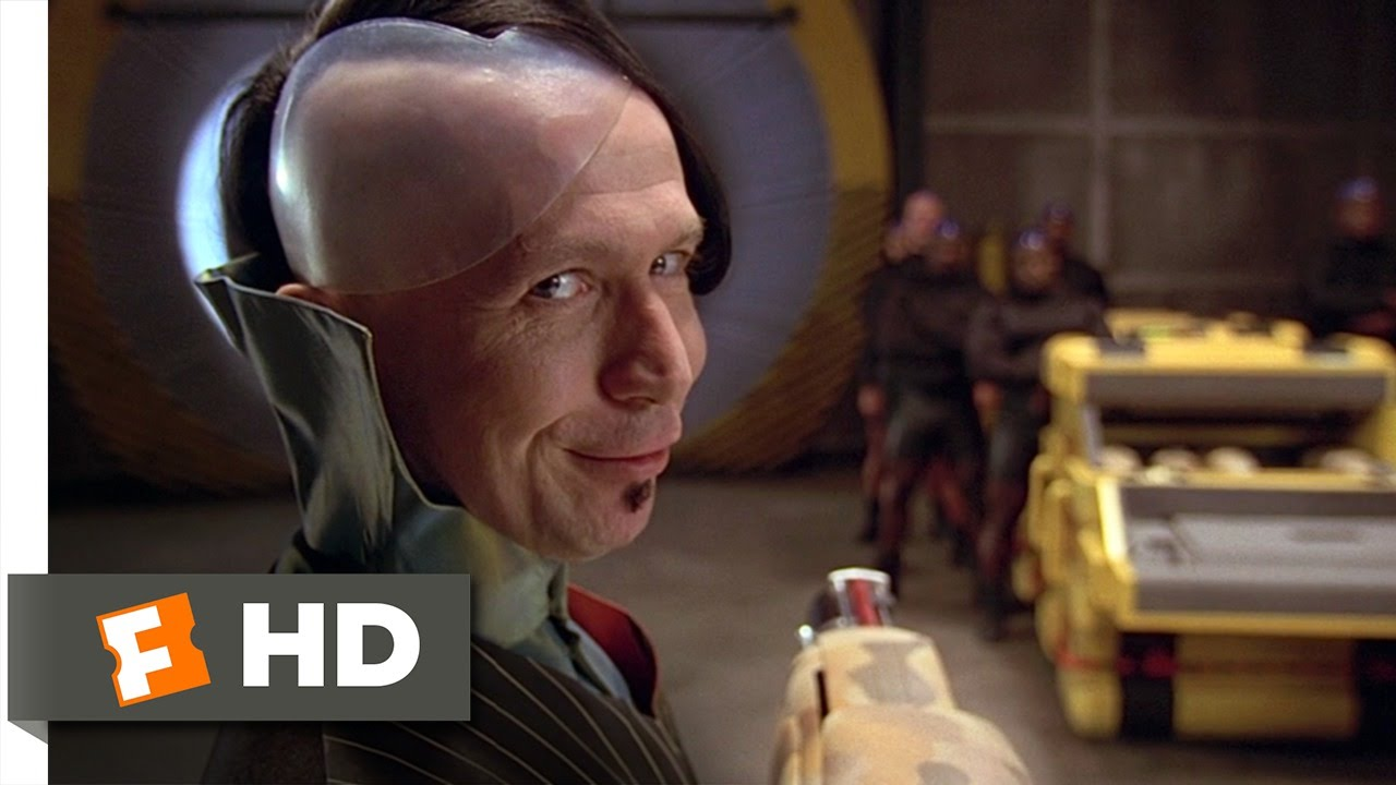 Zorg Presents the ZF1 - The Fifth Element (4/8) Movie CLIP (1997) HD -  YouTube