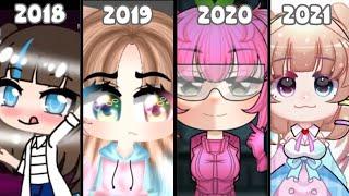 my gacha vids from 2018-2021