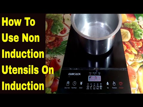 How To Use Non Induction Utensils On Induction  | How to Clean Induction | Induction Tips