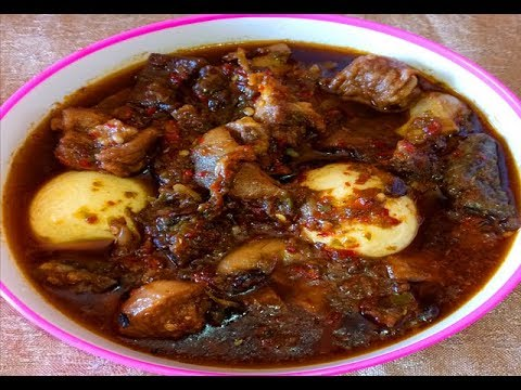 Ofada Stew (Ayamase) Recipe: How to Make Ofada Stew- Designer Stew