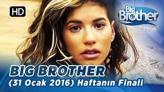 Big Brother Türkiye (31 Ocak 2016) Haftanın Finali - Bölüm 89