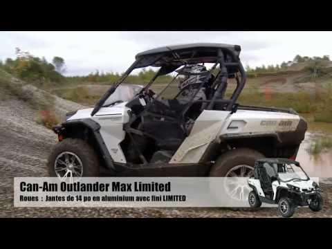 Ams - Action moteur sport - Vtt - Essai Can-Am Commander 1000 Limited 2014