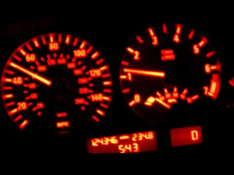 2004 BMW 3 Series E46 Dash Warning Lights Of A  Bad Altenator Signs
