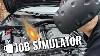 KLANTEN BEKOGELEN   Job Simulator VR Auto Mechanic (HTC Vive)
