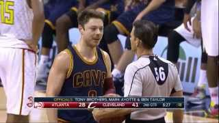 Coach Budenholzer bumps referee and gets ejected! - Hawks vs Cavs