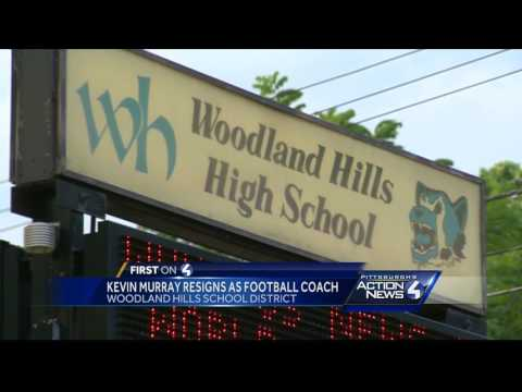 Woodland Hills High School principal resigns as head football coach