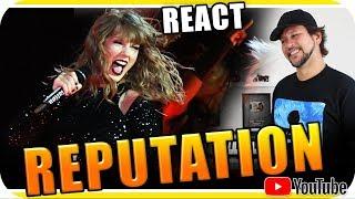 TAYLOR SWIFT REPUTATION VALE A PENA? - Marcio Guerra Reagindo React Reação